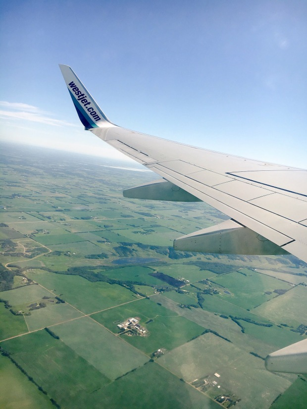 Flying out of Edmonton, AB