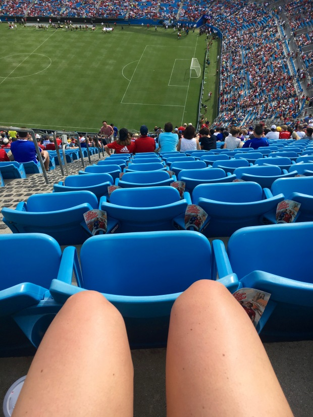 Bank of America stadium 500 section
