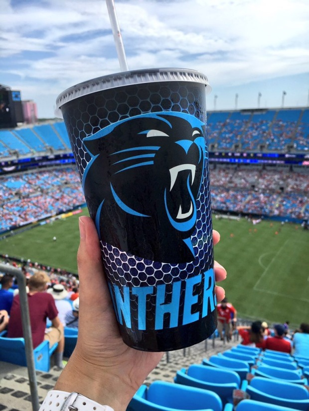 Carolina Panthers cup