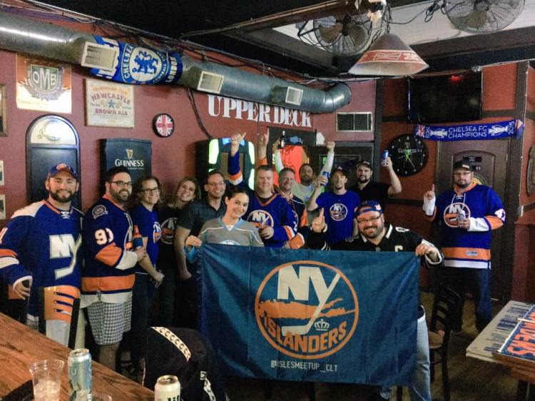 New York Islanders Meet-up in Charlotte, NC