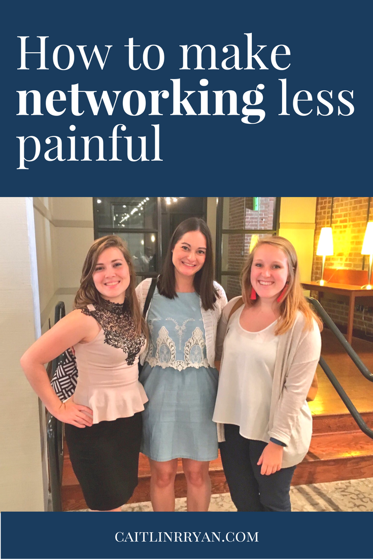 How to make networking less painful