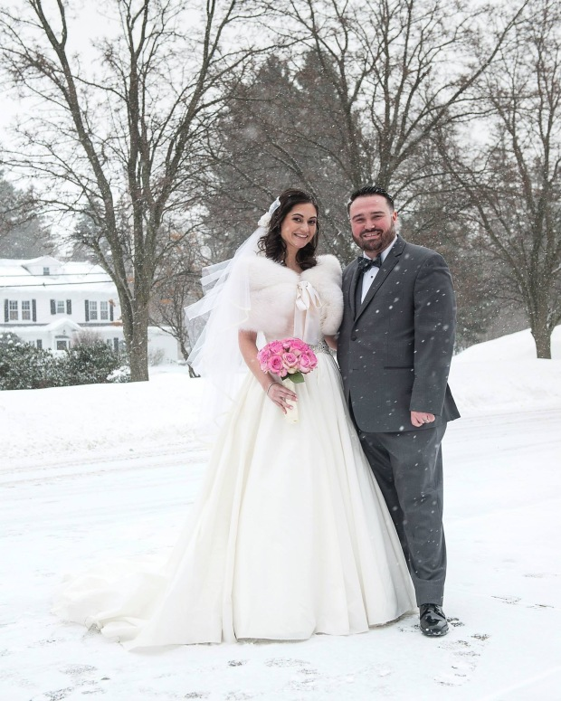 Winter wedding in New York