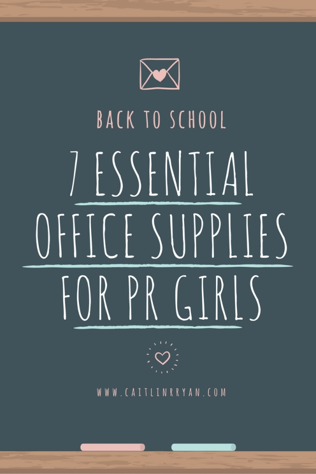 PR Girl Office Supplies