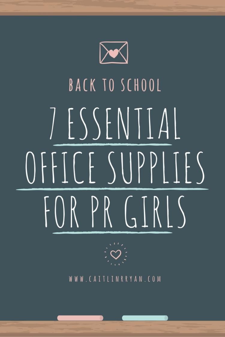 PR Girl Office Supplies