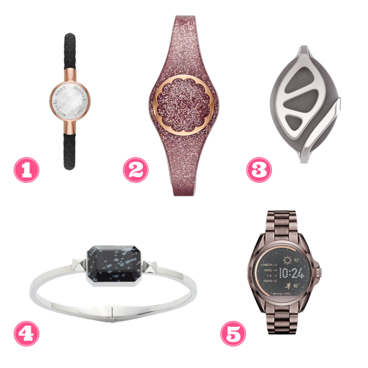 5 cute pieces of wearable tech for working women
