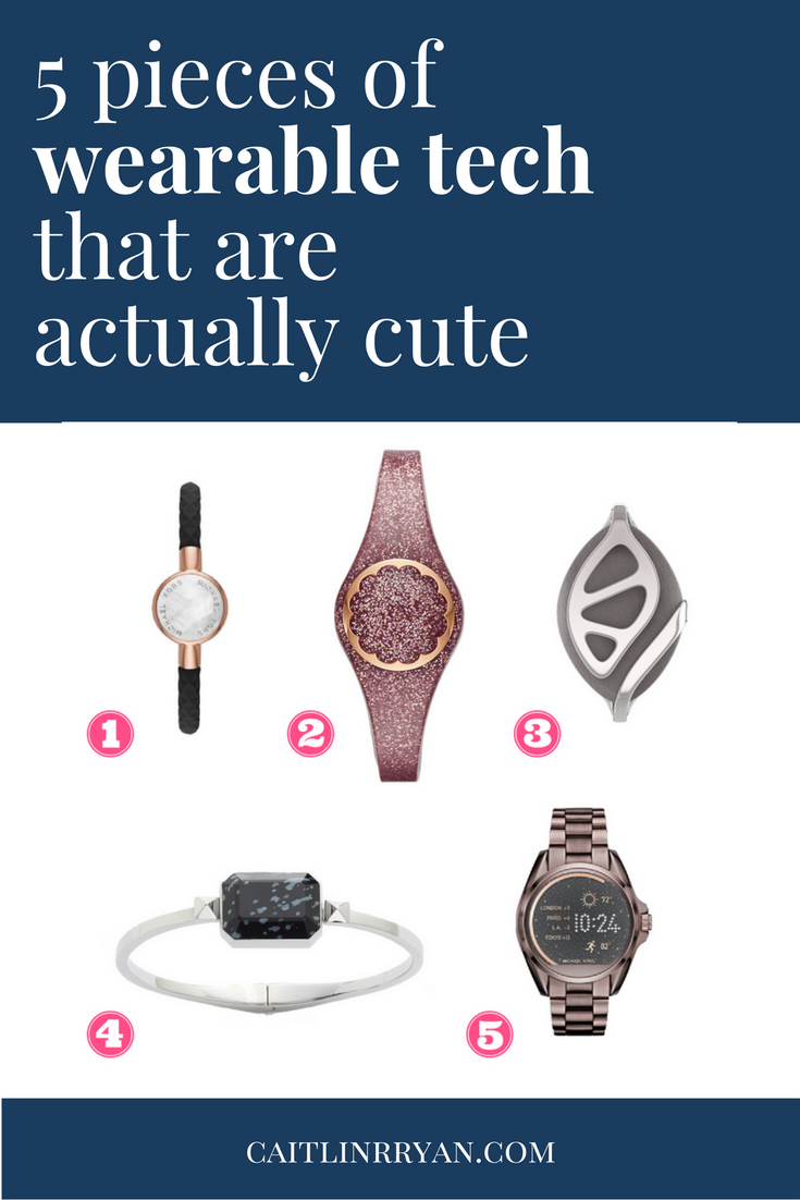 5 pieces of wearable tech that are actually cute