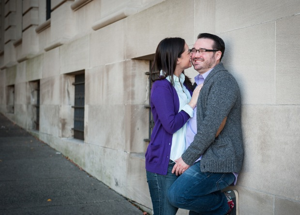 Engagement photos in Troy, NY