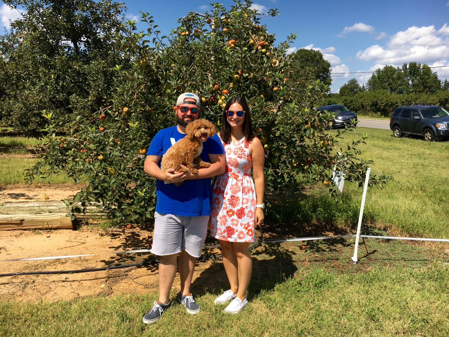 Family photo at Windy Hill Orchards