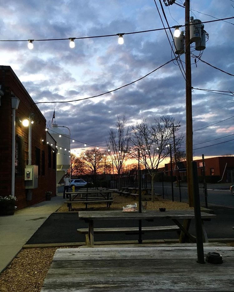 Triple C Brewing in South End Charlotte