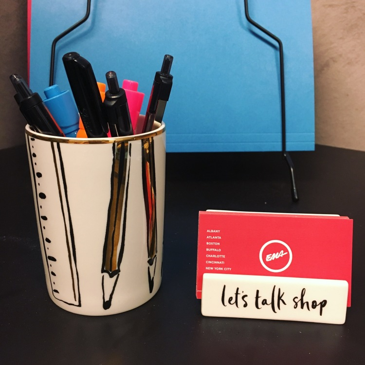 PR Girl desk accessories