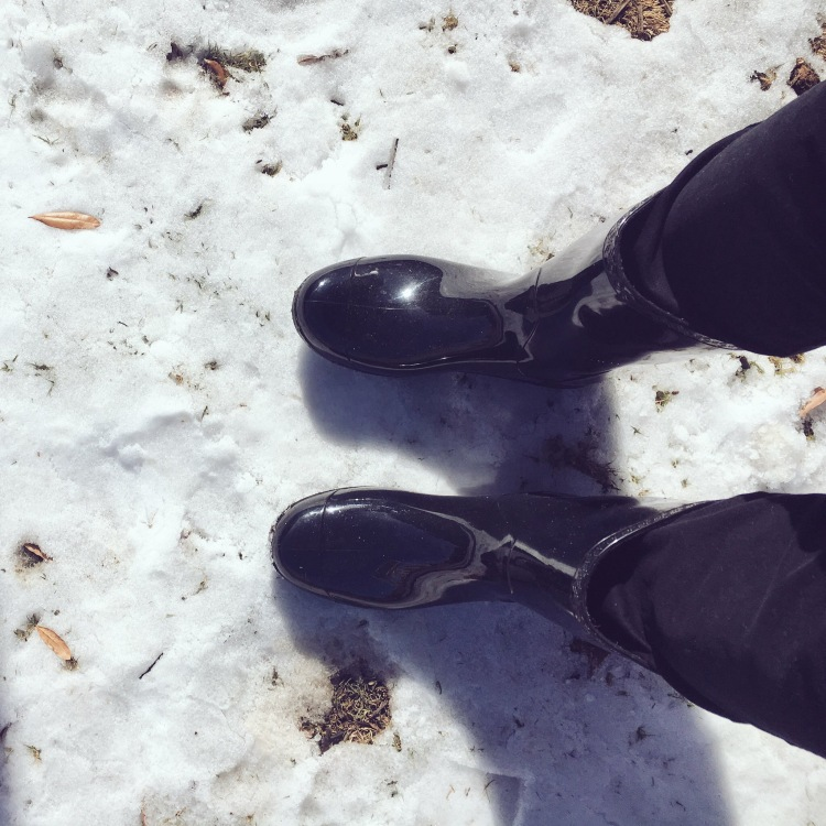 Ugg rain boots for winter weather