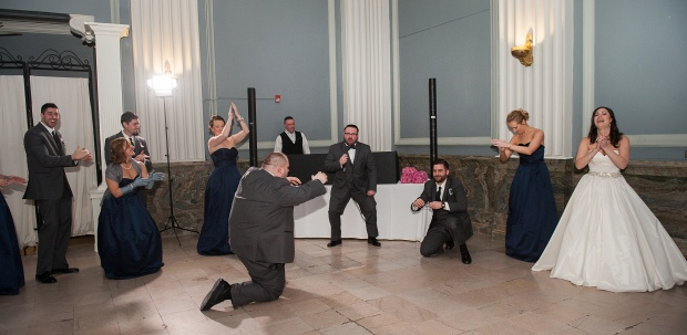 Groom entrance rap