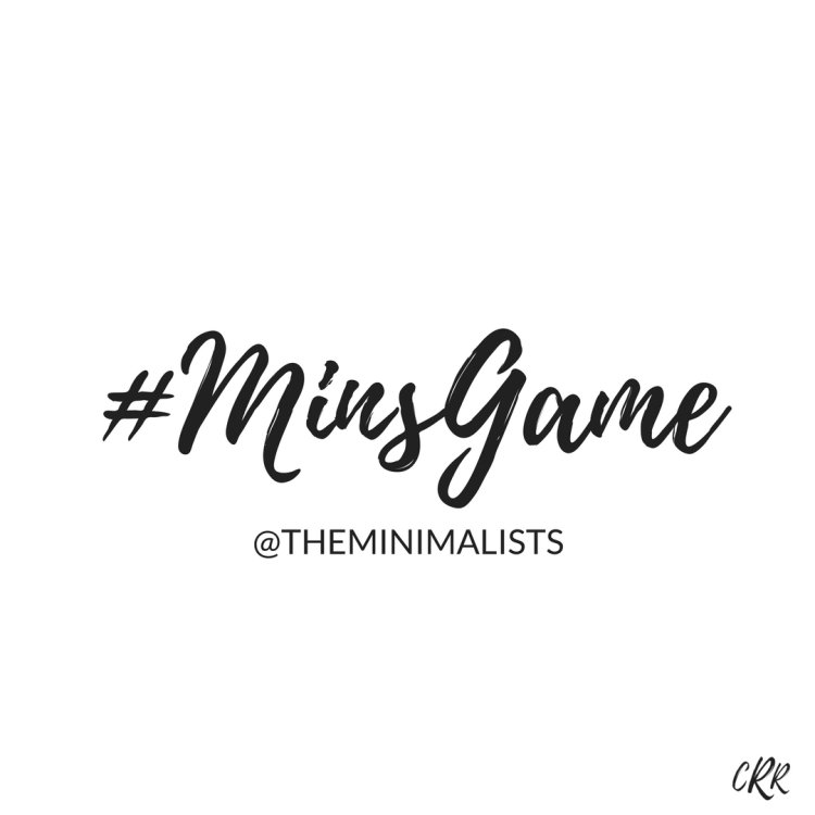 The Minimalism Game