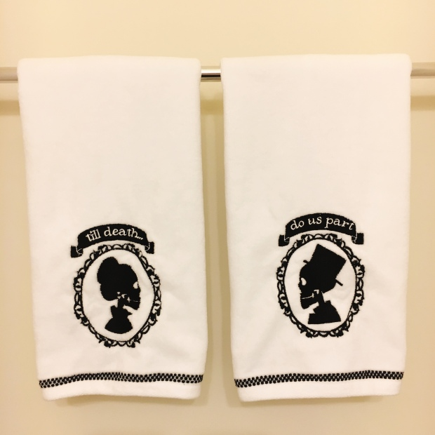Corpse Bride hand towels
