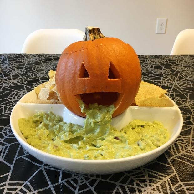 Guacamole pumpkin