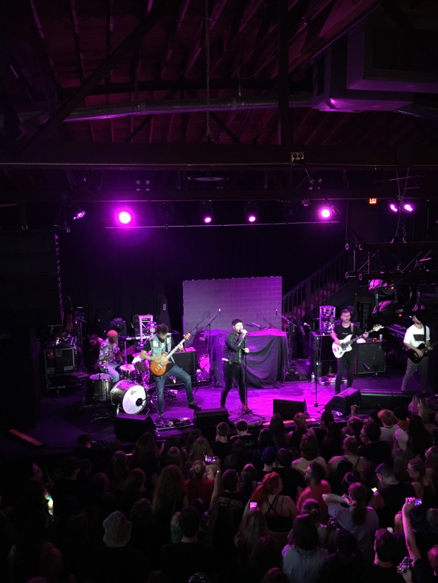 Emarosa live with Set if Off and Broadside